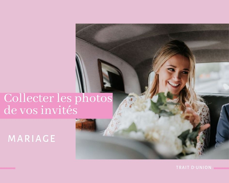 Idée photo mariage invités