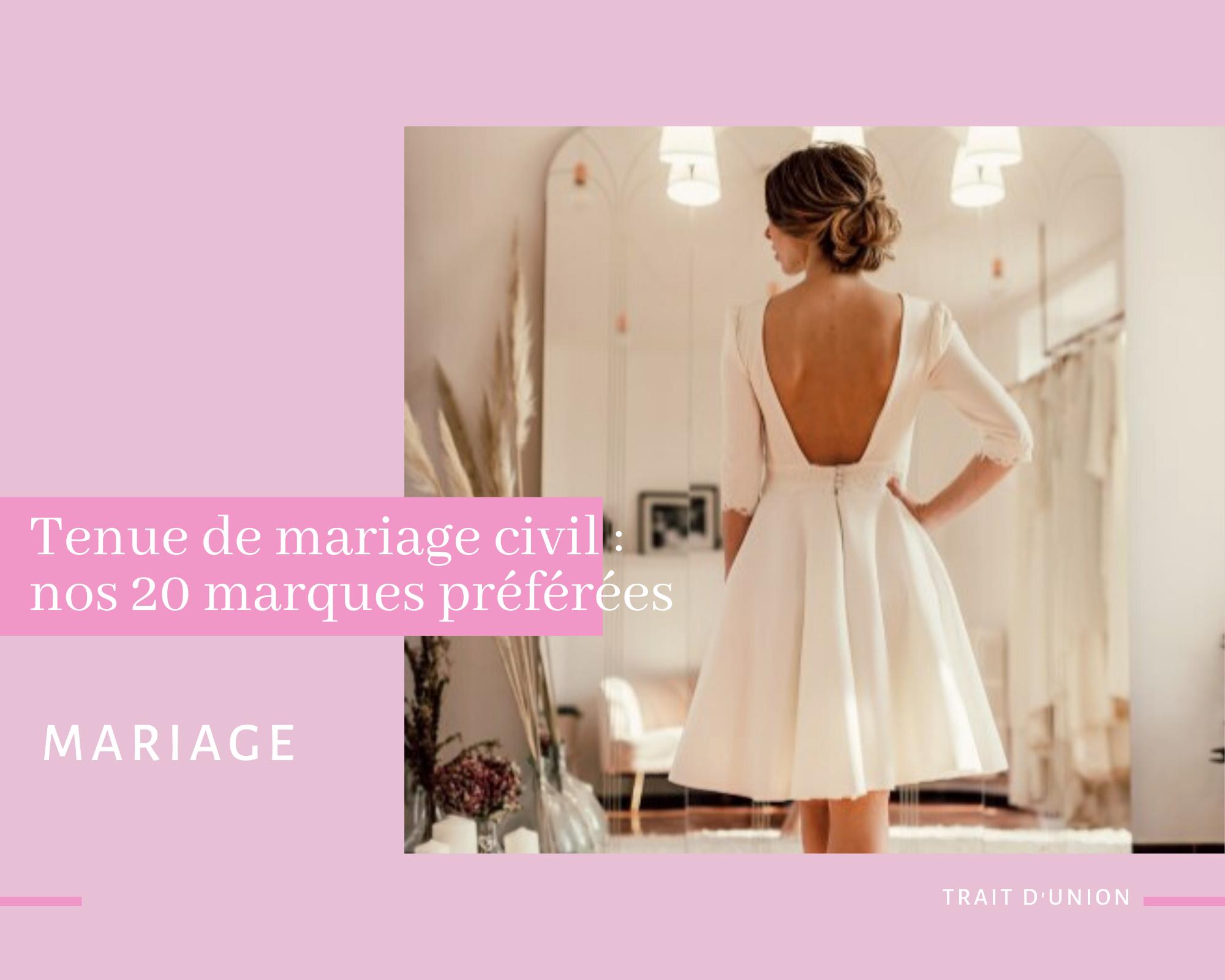 tenue pour mariage civil