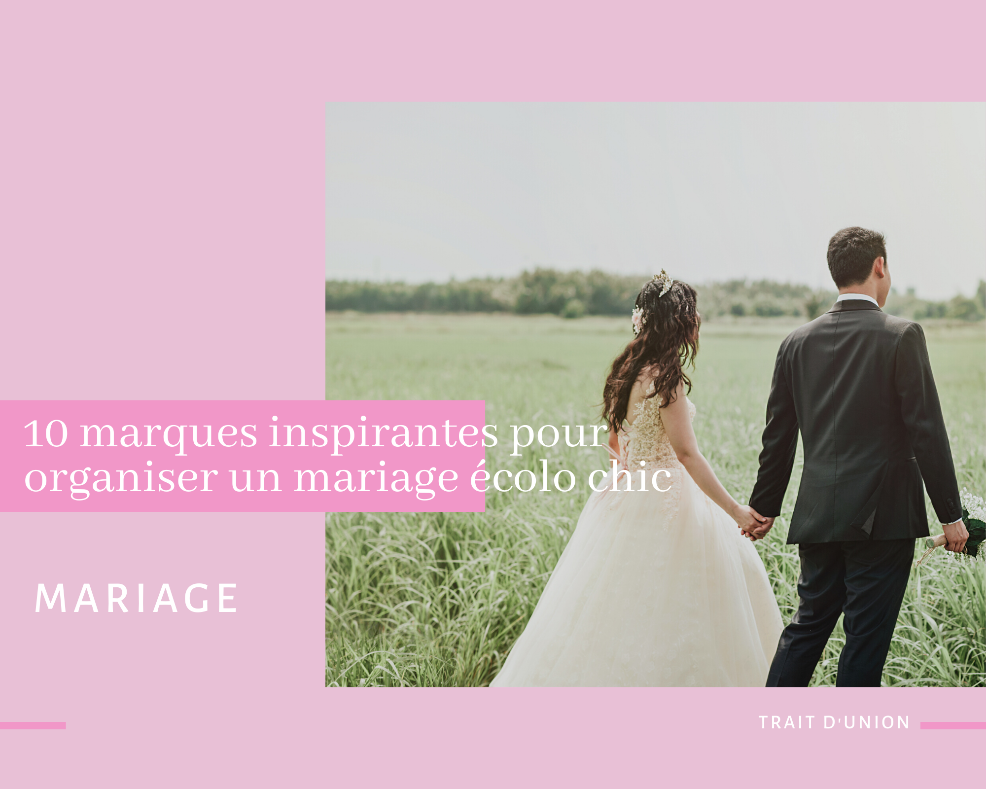 mariage écolo chic
